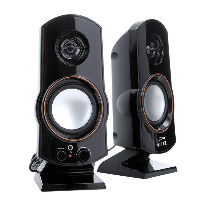 [CATALOGUE GENERAL 2015] AL - SND24V2: 2.0 speaker: Composants système : 2 haut-parleurs de 2W, 2 haut parleurs de 2W, Entrée auxiliaire 3,5 mm, Puissance maximale : 40w - RÉF: AL - SND24V2 http://www.exertisbanquemagnetique.fr/info-marque/altec