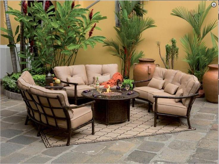 Cabana Bay Crescent Outdoor Deep Seating From Pride Family Brandsu0027 Castelle  Line. Home Design Ideas