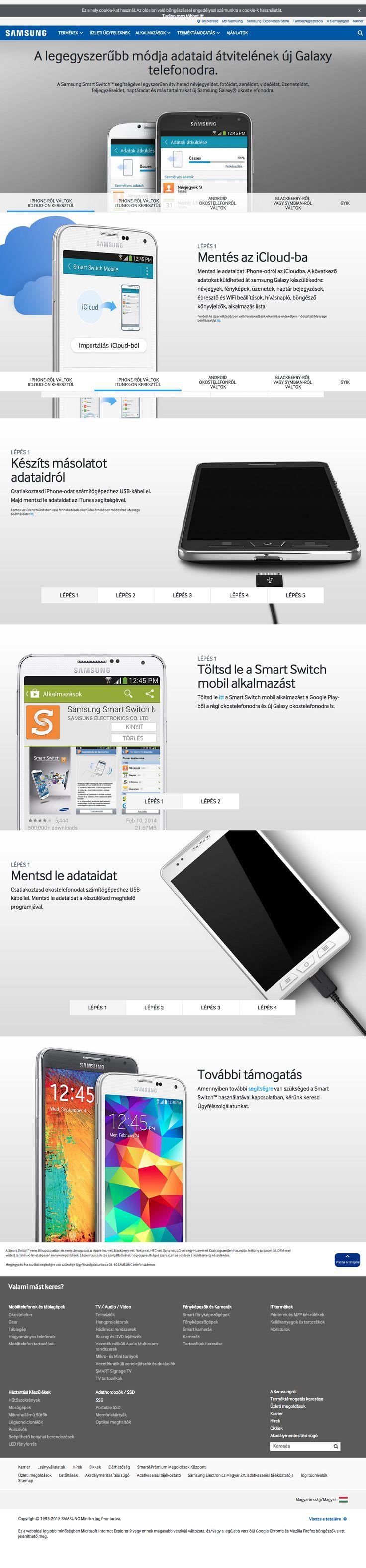 samsung.com/hu - Smart Switch X