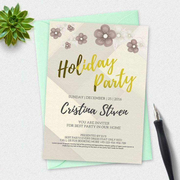 Cele mai bune 25+ de idei despre Holiday party invitation template - Holiday Templates For Word