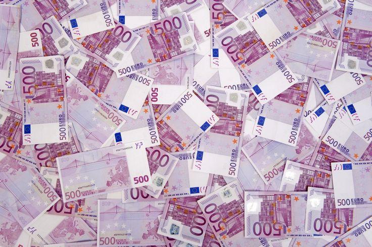 Деньги Купюры Евро 500