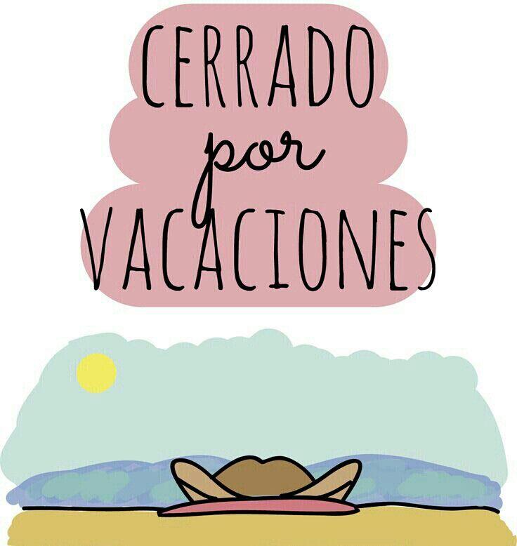 Cerrado por vacaciones                                                                                                                                                                                 Más