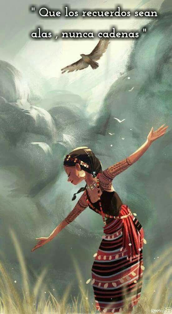 Cultivar  los  recuerdos  que  sean alas,  nunca  cadenas                                                                                                                                                                                 Más