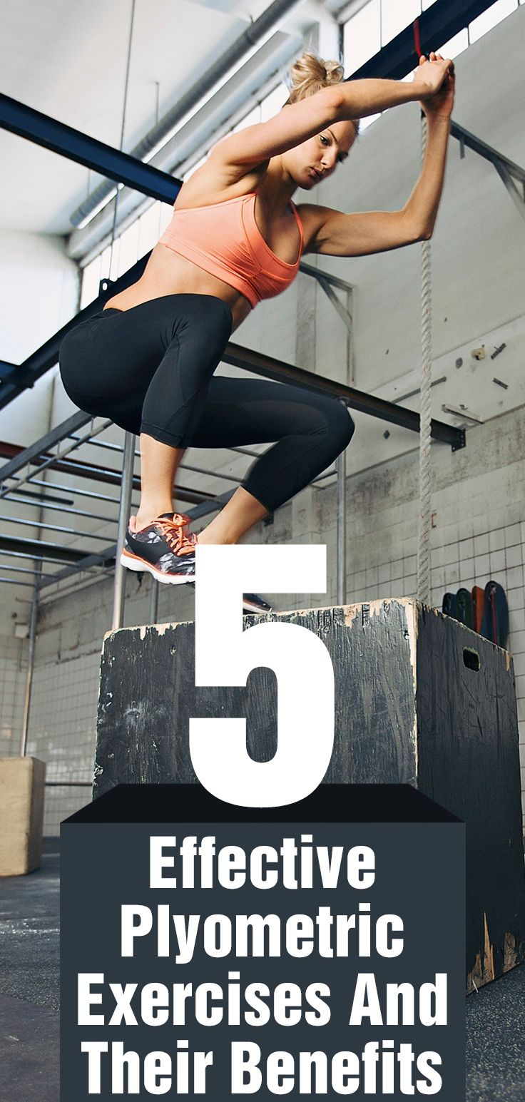5 Effective Plyometric Exercises And Their Benefits. AMAZING moves guys/gals! Box Jumps are killer! Just be careful when doing his and listen to your body!