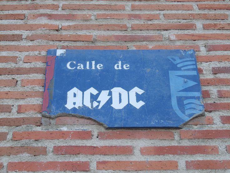 Calle de AC/DC (Leganés)