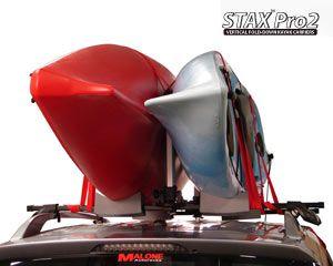 Malone Folding Stacker Style Kayak Carriers Kayaking