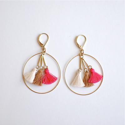 tassel earrings // pendientes borlas