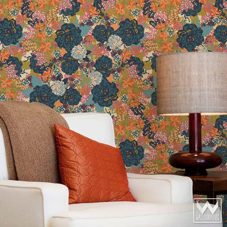 English Garden Bari J. Removable Wallpaper
