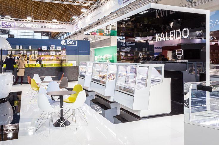 Kaleido  #ISA #icecream #gelato #pastry #foodandbeverage #Sigep #Rimini #Italy #Madeinitaly #displaycabinet #bar #design