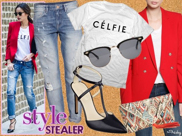 Style Stealer: Jamie Chung Wears Her Love For Celfies