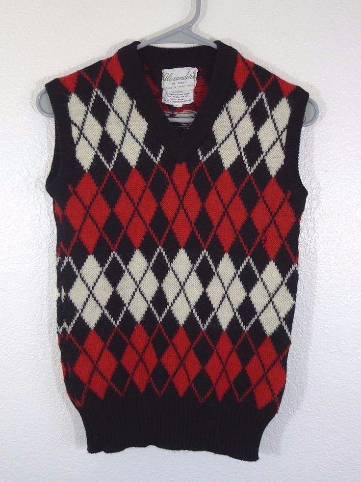 97 best RUTIG SLIPOVER images on Pinterest | Sweater vests, Argyle ...