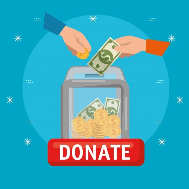 Download Box With Money For Charity Donation For Free Donate To Charity Charity Poster Charity