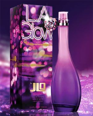 L.A. Glow Jennifer Lopez perfume - a new fragrance for women 2010