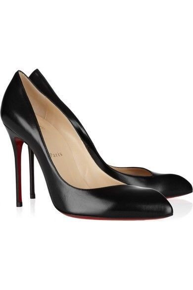 93e71ebb35 New Christian Louboutin Corneille Black Leather 100mm Pumps Size 36.5EU/6US  #fashion #clothing #shoes #accessories #womensshoes #heels (ebay link)
