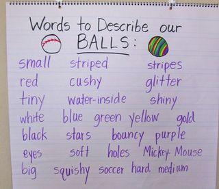 Kindergarten ball sorting activitiy from Kindergarten Kindergarten