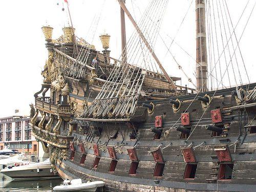 Spanish galleon Neptune side | Flickr - Photo Sharing!--modernknight1