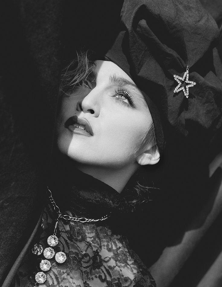 "blueblackdream: ""Herb Ritts, Madonna, New York 1984 """