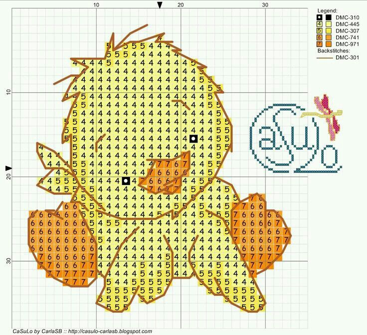 ♥Meus Gráficos De Ponto Cruz♥: Patinhos em Ponto Cruz (Enxoval do Bebê)