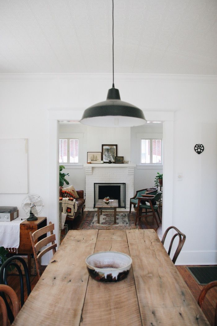 Inside the Nashville Home of an Airbnb Instagram Star   Farm TablesKitchen. Best 25  Rustic dining tables ideas on Pinterest   Rustic dining