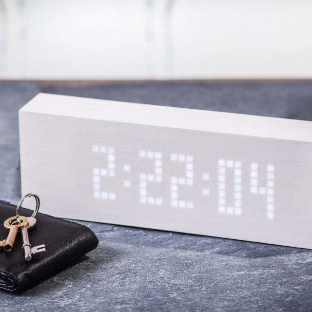 Message Click Clock By GINKO ELECTRONICS on Qrator.com!