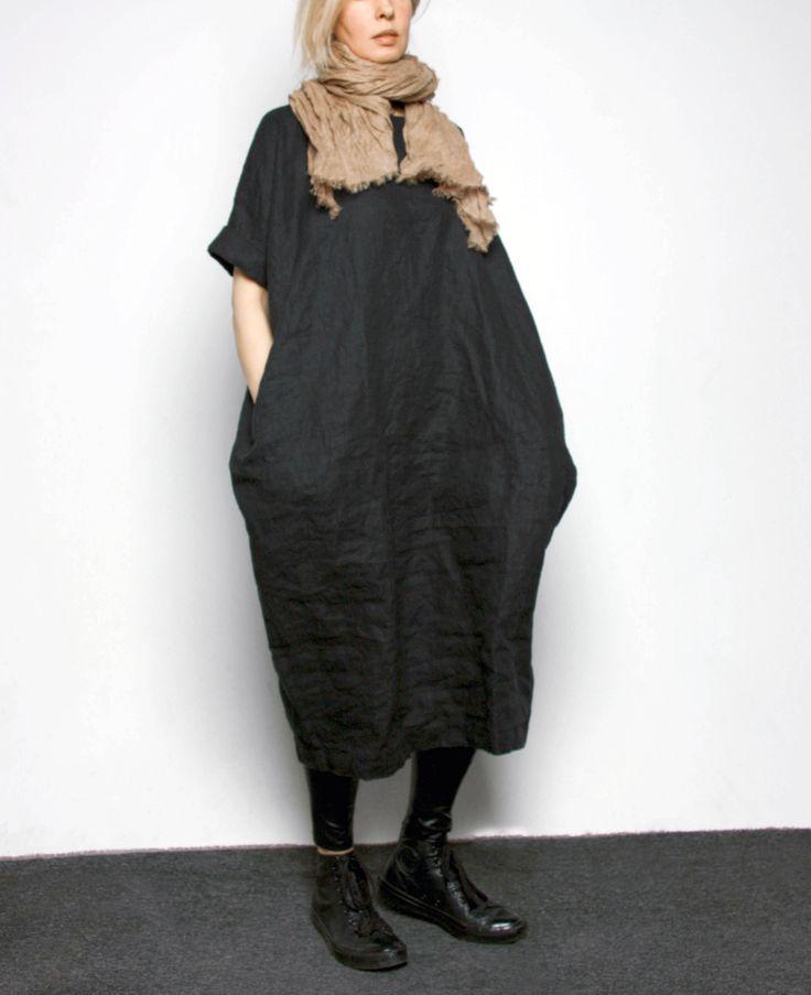 Льняное платье в магазине «Les Pois» на Ламбада-маркете