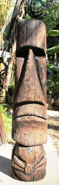 Tiki Objects by Bosko - Handcarved Tiki Poles