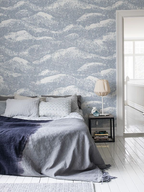 MR PERSWALL | A harmonious motif that can be whatever you want ... waves, clouds, or why not mountain tops?