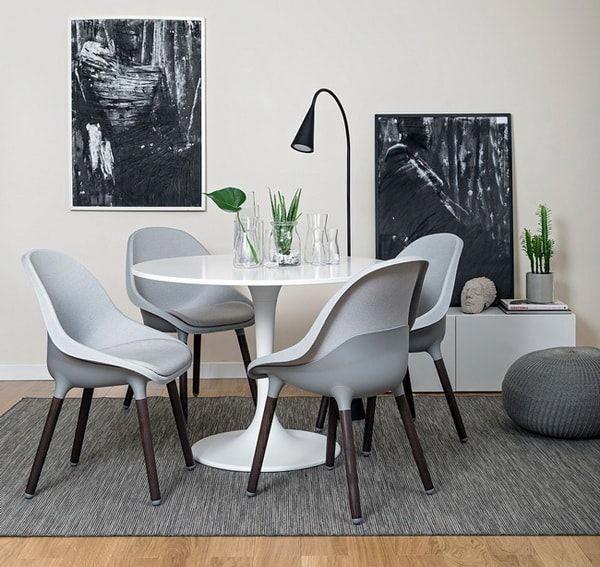 Sillas de diseño de Ikea. Comedores modernos con sillas ikea