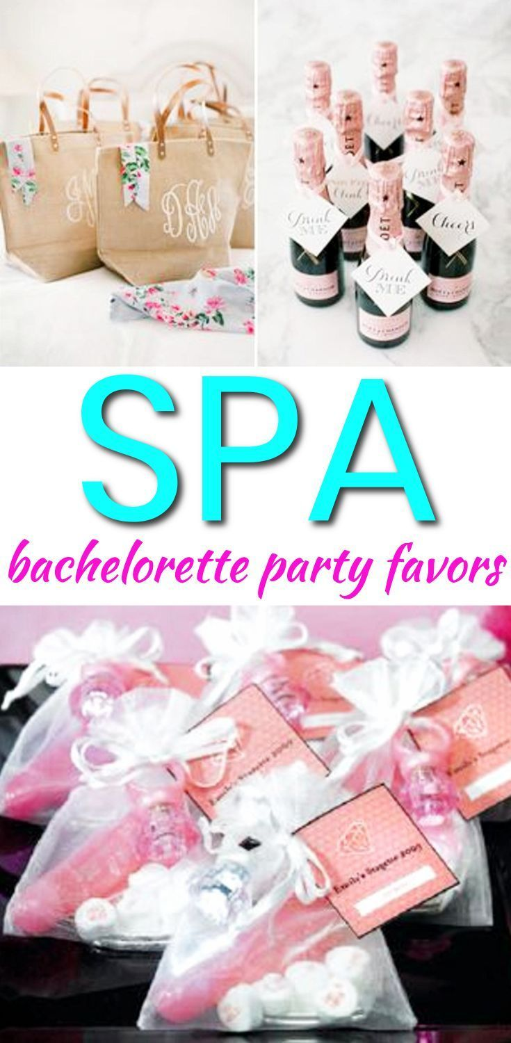 Bachelorette Party Favors!  The best Spa Bachelorette Party Favors! Your bride tribe, friends and guests will love any of these Bachelorette Party Favor Ideas! Amazing ideas including DIY, alcohol, goodie bags, hangover kits, survival kits and more. Find classy, unique, cheap and expensive ideas. Find amazing Bachelorette Party Favors Now! #wedding #bachelorette #bride #survivalideas #uniqueweddingideas