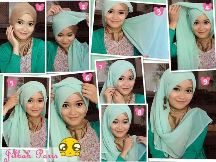 Tutorial hijab pesta simple for 2015, Tutorial hijab pesta simple for 2015 http://www.justtrendygirls.com/tutorial-hijab-pesta-simple-for-2015/