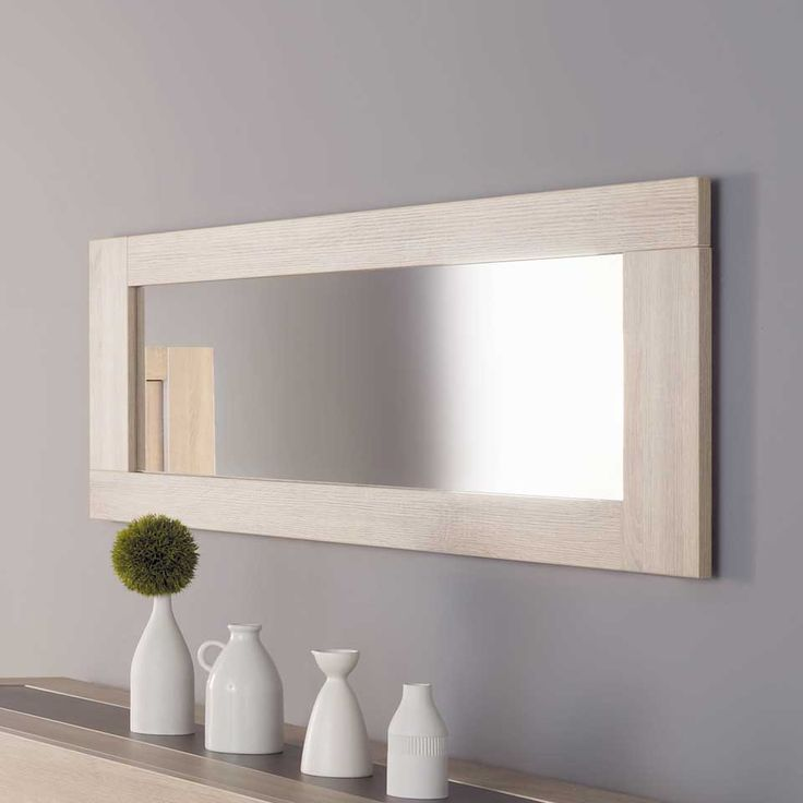 Grand miroir mural rectangulaire maison design - Tres grand miroir mural ...