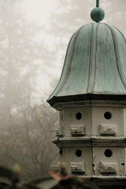 Gorgeous bird house.