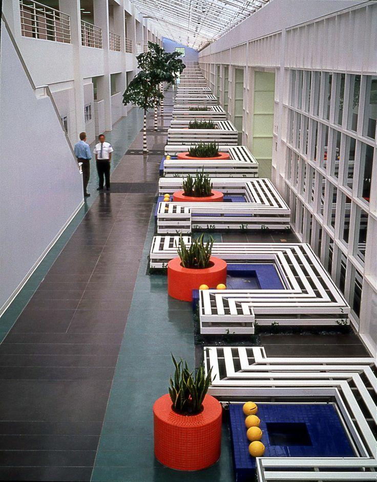 Beckton Dickinson, San Jose, California, USA. Landscape Architecture by Martha Schwartz Partners. www.marthaschwartz.com