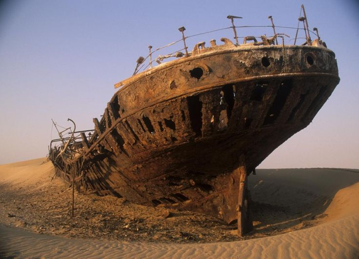 Here's a shot from the Skeleton Coast.