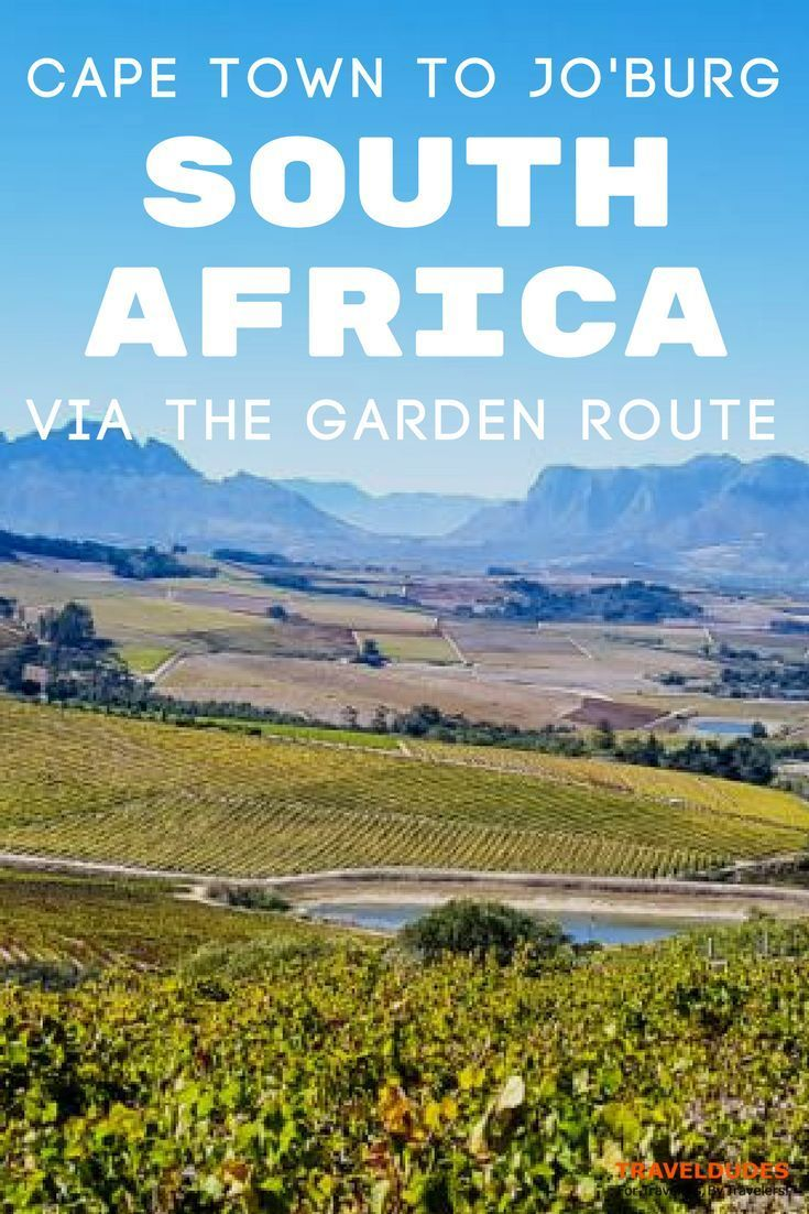 The complete South Africa Road Trip Guide: From Johannesburg to Cape Town via the Drakensberg, Addo Elephant National Park, and the Garden Route. | Blog by Travel Dudes: Community for Travelers, by Travelers!
