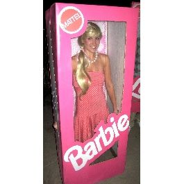 halloween homemade barbie costume in a box - Halloween Costume Barbie