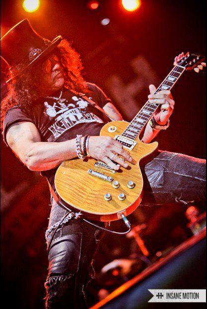 Slash- Guns N' Roses, Slash's Snakepit, Velvet Revolver, The Conspirators