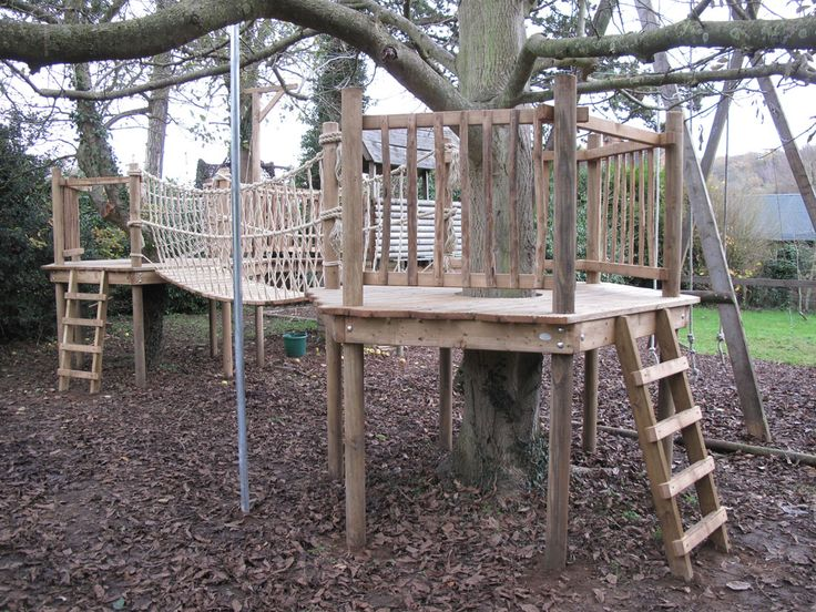 tree house bridges | Tree House Walkways and Bridges | Squirrel Design