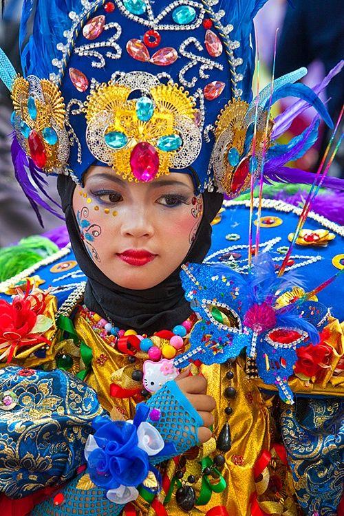Jember Fashion Carnaval, Jember, East Java, Indonesia. Copyright Jim Zuckerman