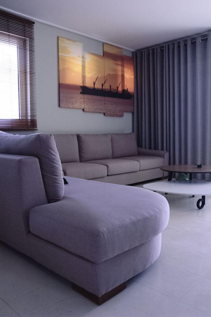 Apartment at Loutraki. Living room