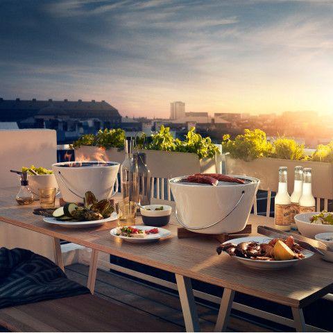 Eva Solo® Tisch- und Picknickgrill. Mobiler eleganter Grill zum einfachen transportieren. https://www.ikarus.de/marken/eva-solor.html