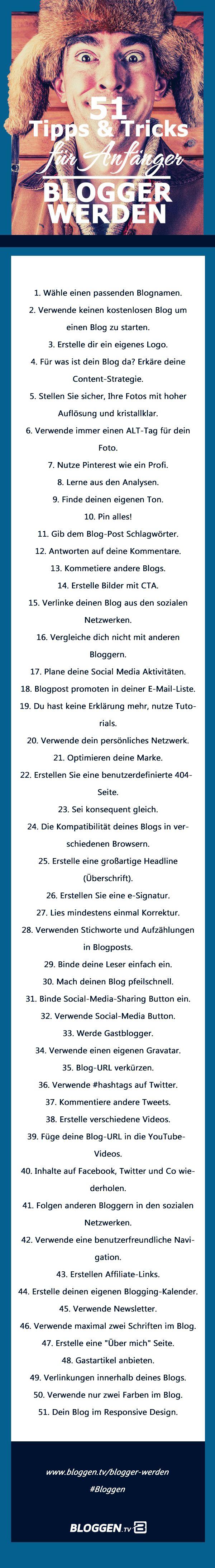 Blogger werden Viele Blogger müssen den eigenen Blog mit minimalen Budget erstellen. Eine Marke aufbauen und den eigenen Stil finden. Um dann zahlreiche Leser, Anhänger und Fans zu begeistern. Vertrauen aufzubauen ist noch schwieriger als es klingt.  #bloggen #bloggentv http://www.bloggen.tv/blogger-werden/