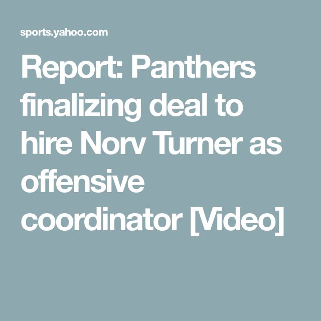 Report: Panthers finalizing deal to hire Norv Turner as offensive coordinator [Video]