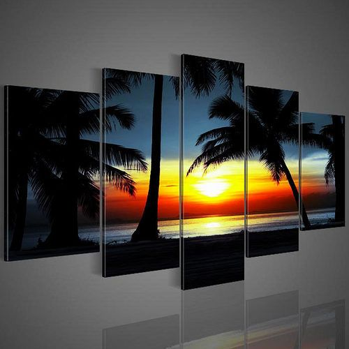 nr 52 Palmboom Sunset