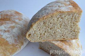 Jeden z prostszych i chyba jeden z najlepszych chlebów drożdżowych jakie do tej pory piekłam. Jest to chleb z dodatkiem maślanki naturalnej i odrobiny drożdży. Maślanka delikatnie zakwasza ciasto – dzięki czemu drożdże są niemal niewyczuwalne. Chleb ma bardzo miękki, sprężysty środek i chrupiącą skórkę. To taki prawdziwy wiejski chleb. Bardzo łatwo się go wyrabia, […]