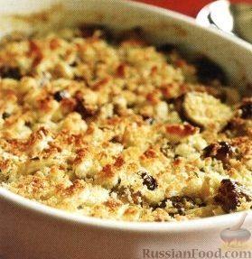 Фото к рецепту: Брюссельская капуста в сливочном соусе