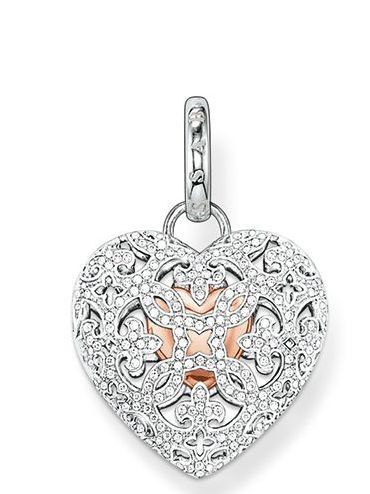 Thomas Sabo Pendant Glam & Soul Locket Heart Silver | C W Sellors Fine Jewellery and Luxury Watches