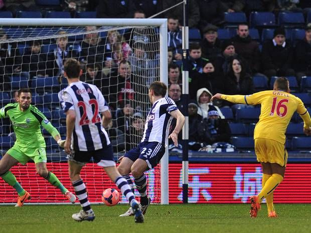 West Brom 0 Crystal Palace 2: Dwight Gayle damage leaves Albion heading for exit