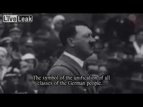YOU THINK YOU KNOW ADOLF HITLER? THINK AGAIN.  Objective, clear and precise understanding of Adolf Hitler's speeches has been kept away from the world since the end of WWII. It is, especially from Jewish circles, feared that the incredibly persuasive rhetorical skill of Adolf Hitler will inflame support for his message. It is generally accepted that the media, also owned by Jewish circles, has actively kept the viewing public from access to accurate translations of Adolf Hitler's speeches.