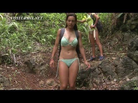 Tania Rincon y Geraldine Bazan Bikinis La Isla HDTV   Videos ...
